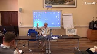 Девятая лекция в «Школе уголовной защиты Новолодского»
