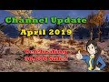 Channel Update - April 2019 - Celebrating 30k Subs! - New Merchandise! - New Fallout 4 Content