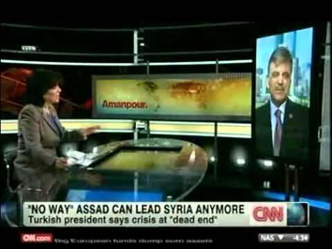 Cumhurbaşkanı Abdullah Gül CNN International