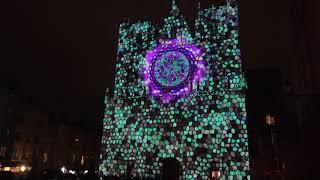 Fête des lumières 2017 à Lyon, Cathédrale Saint Jean
