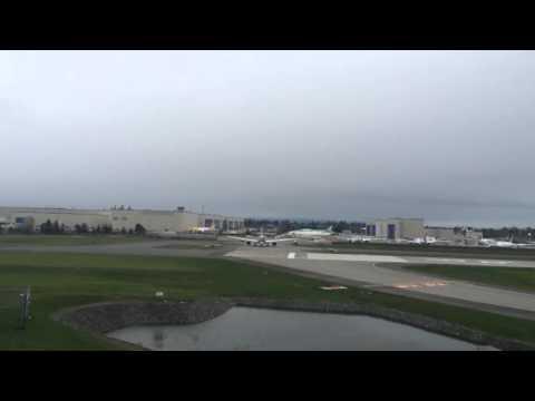 4K-AZAL Azerbaijan Airlines Boeing 787-8 Dreamliner - Taxi Test 10.5.2014