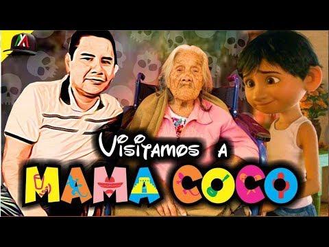 está VIVA la MAMÁ COCO!!!! ( grandmother coco movie)