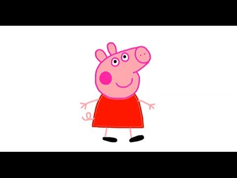 Itsy Artist - How To Draw Peppa Pig Travel Video