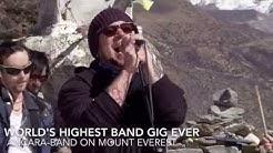 StaraTV World's Highest Band Gig, Ancara-band, Mount Everest 4 700 MSL, 15 NOV 2015