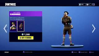 Fortnite Artikel Shop! 27. Sept. HEIDI/LUDWIG SKIN! Neu!!
