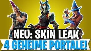 *NEW* Skins Leak & New Portals!   Gun Tower Update   Fortnite Battle Royale