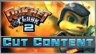 Ratchet & Clank 2: Cut Content (Going Commando)