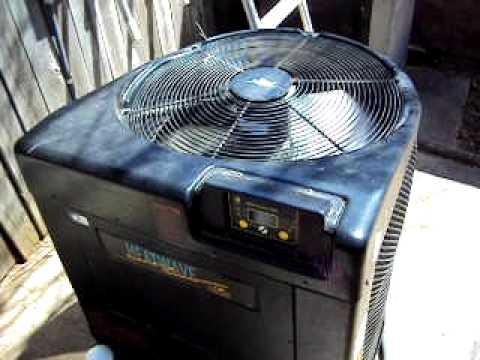pool heat pump electrical hookup