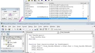 Microstation Yazilara Ek yapan VBA programı yazılımı