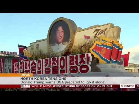 BBC World News Impact - North Korea tensions