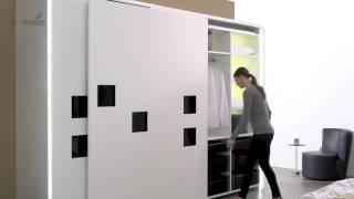 InLine XL раздвижная система для гардеробов гибкость с организации пространства.(InLine XL раздвижная система, компланарная (в одной плоскости) от Hettich. Восхитительно ровный фасад InLine XL Раздви..., 2015-01-12T19:19:16.000Z)