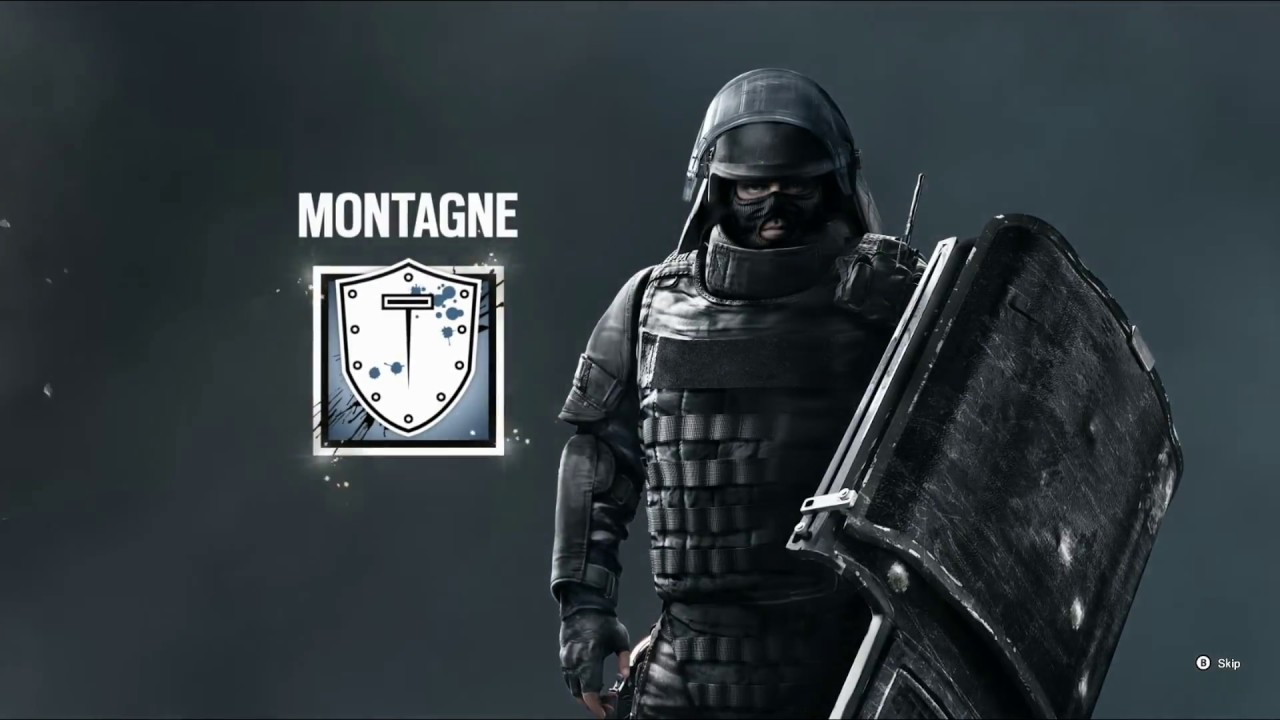 Image result for rainbow six siege montagne operator video