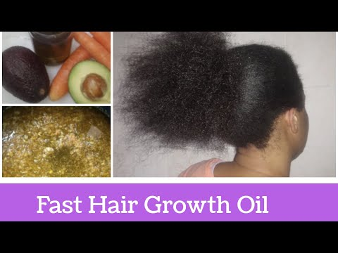 HOW TO MAKE AVOCADO AND CARROT OIL /DIY AVOCADO OIL AND CARROT OIL FOR HAIR GROWTH