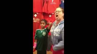 Mother Abuses And Yells At Child In Walmart!