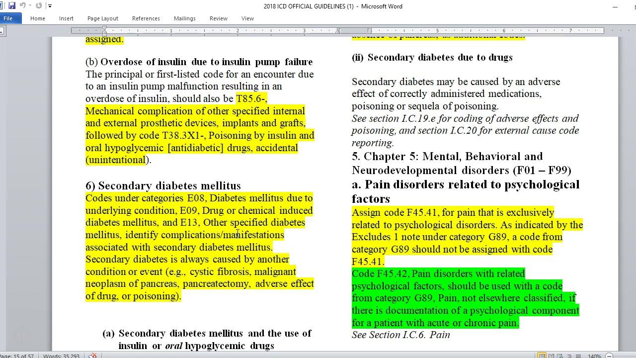 código icd 10 de fusión subtalar para diabetes
