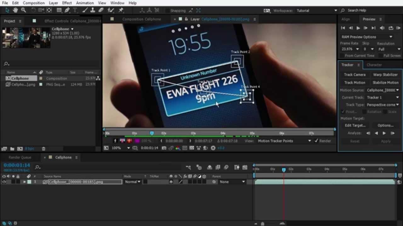 After effects motion tracking basics tutorial youtube baditri Choice Image