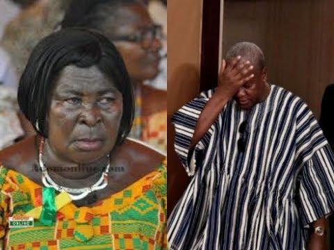 """I regret campaigning for John Mahama"" - Akua Donkor"