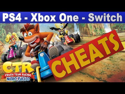 Crash Team Racing Nitro-Fueled Cheat Codes | Every Cheat Code On PS4 - Xbox One - Switch