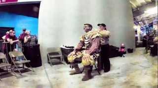 Chief Osceola - Behind The Scene Transformation