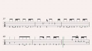 All Along the Watchtower Bass tab
