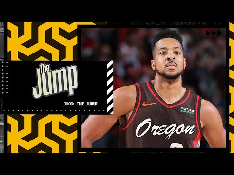 Reacting to the news that the Trail Blazers have rejected draft pick offers for McCollum | The Jump