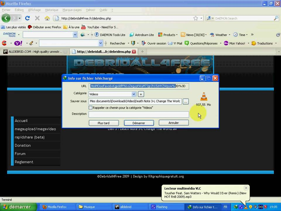 Debrid Megaupload And Rapidshare and Many Other Server ? for Free