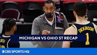 Michigan <b>Basketball</b> Highlight and Recap Beating <b>Ohio State</b>   CBS ...