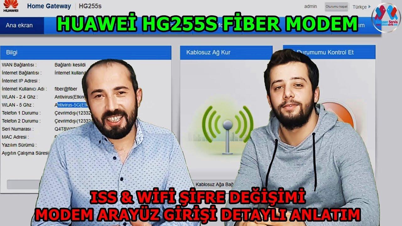 HUAWEİ HG255S Kablosuz Kurulum Ve ISS Şifre Tanımlama Detaylı Vlog Bölüm   544  4K