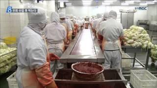 [뉴스데스크]가공식품 수입으로 피해 '눈덩이&#…
