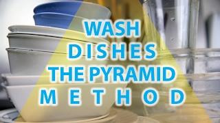 Dish Washing Pyramid Method Water Use Measured | BeatTheBush