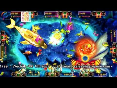 Deep Sea Dragon Shooting Fish Game, Max Betting Fish Gambling Grading Arcades