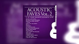 Repeat youtube video Various Artists - Acoustic Faves Vol.2 (Official Album Preview)