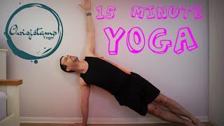 Quick and Easy 15 Minute Vinyasa Yoga Flow