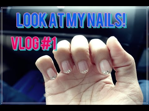 VLOG #1   1st time trying out manicure in KL