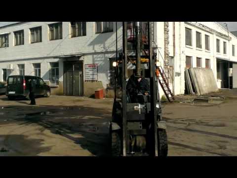 Газовый Вилочный погрузчик ТСМ 2,5 тонны вагонник на складе в Киеве