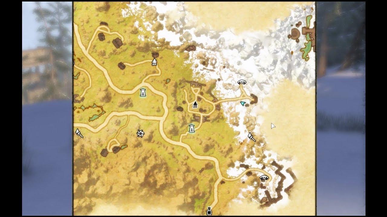 elder scrolls online ce treasure map eastmarch youtube
