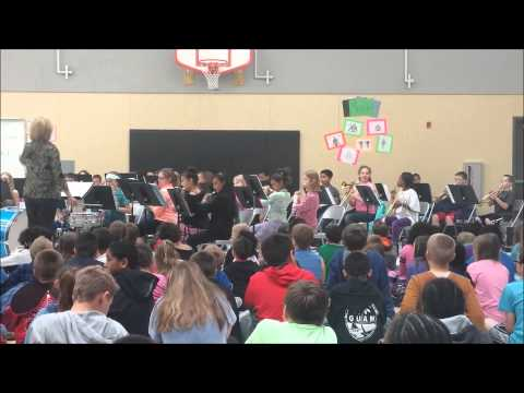 Shining Mountain Elementary School Band.