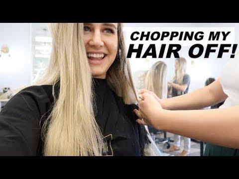 CHOPPING OFF MY HAIR !?