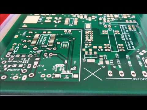 An easy review of the custom PCBs I ordered from PCBWAY