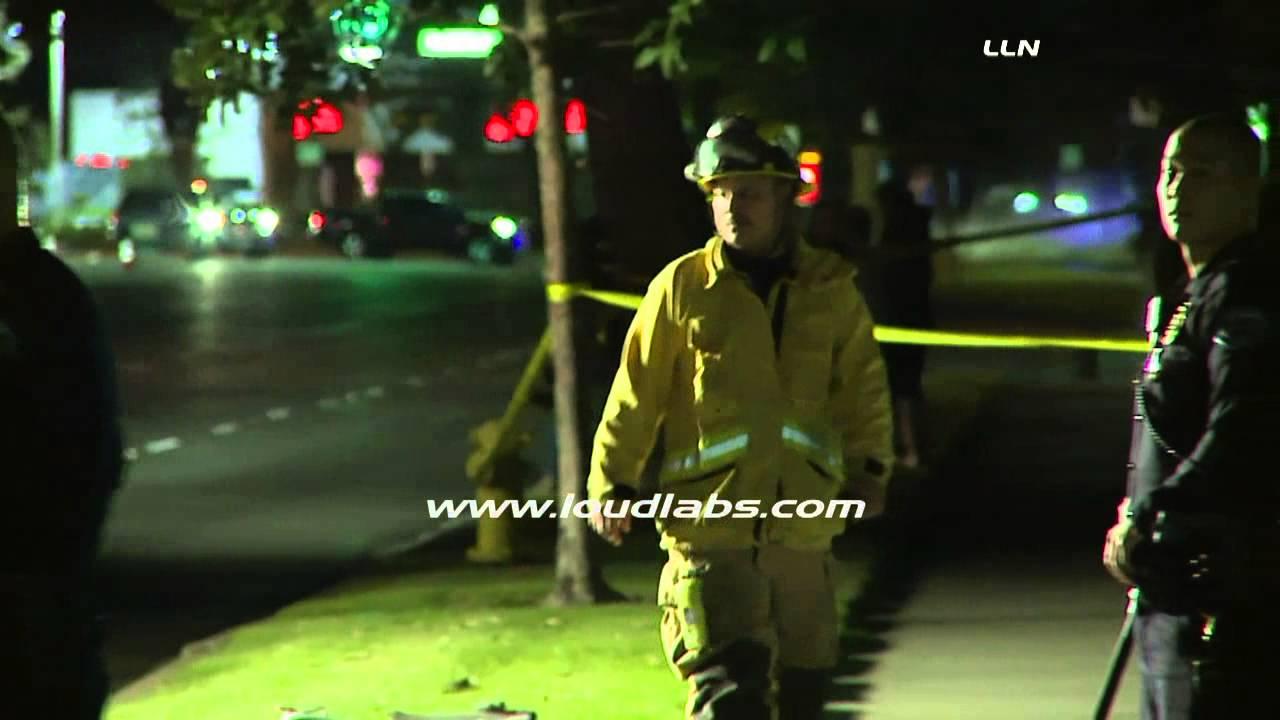 Man & Woman Die in Double Fatal Crash / Torrance RAW FOOTAGE