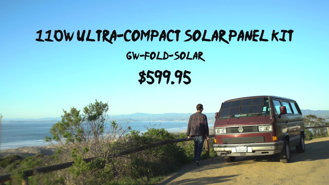 110W Ultra-Compact Solar Panel Kit   GoWesty
