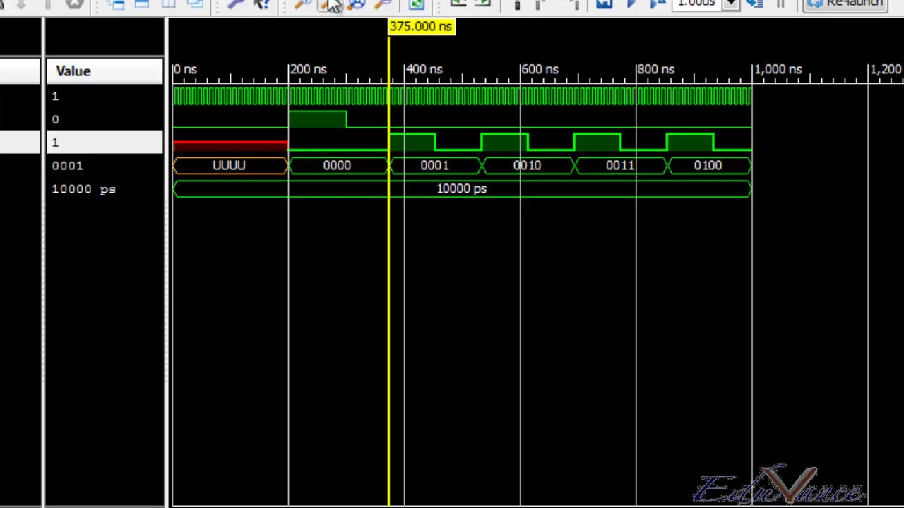 VHDL Lecture 25 Lab 8 -Clock Divider and Counters Simulation