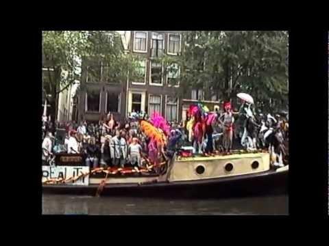 Amsterdam Gay Pride Canal Parade 1998