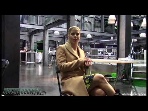 Emily Bett Rickards On William | Arrow Season 6 On Set