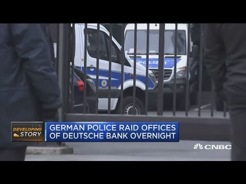 German police raid offices of Deutsche Bank overnight Mp3