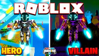 ROBLOX - MAD CITY, NEW HERO OR NEW VILLAIN?!!!