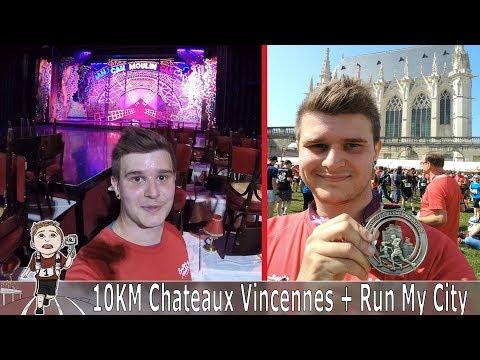 2 Courses en une journée - 10Km Château de Vincennes et Run My City !!