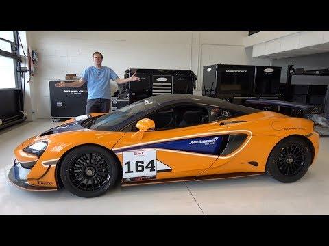 McLaren 570S GT4 - это гоночная машина за $200 000, которую можно купить у дилера