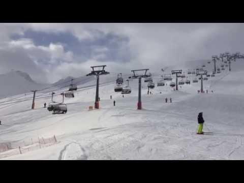 Na nartach z Madonny di Campiglio do Pinzolo