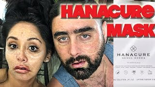 SNOOKI AND JOEY TRY THE HANACURE FACE MASK